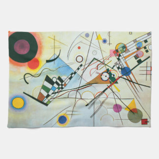 Composition VIII by Wassily Kandinsky Hand Towel