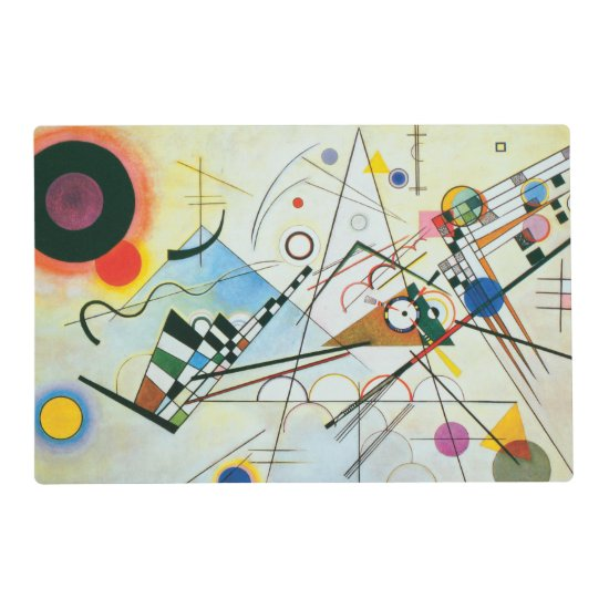 Composition VIII by Wassily Kandinsky Placemat