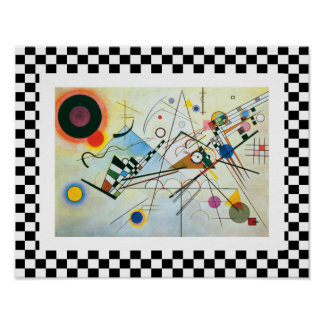 Composition VIII by Wassily Kandinsky Poster