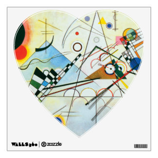 Composition VIII by Wassily Kandinsky Wall Decal