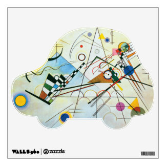 Composition VIII by Wassily Kandinsky Wall Sticker