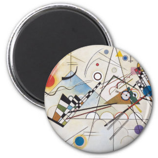 Composition VIII 2 Inch Round Magnet