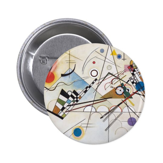 Composition VIII Pinback Button