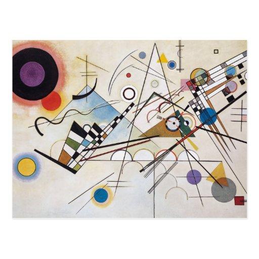 Composition VIII Postcard