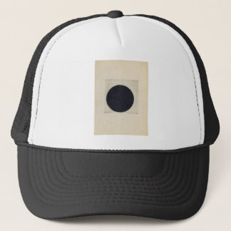 Composition with a black circle by Kazimir Malevic Trucker Hat