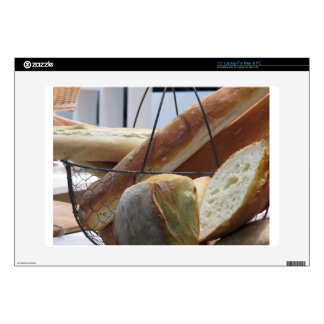 """Composition with different types of baked bread 15"""" laptop skin"""