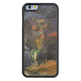 Composition with Figure of a Woman, 1912 (oil on c Carved® Maple iPhone 6 Bumper