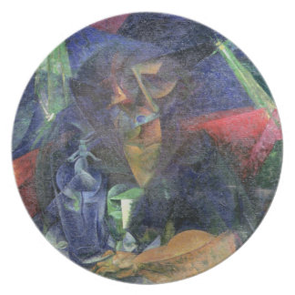 Composition with Figure of a Woman, 1912 (oil on c Melamine Plate