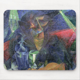 Composition with Figure of a Woman, 1912 (oil on c Mouse Pad