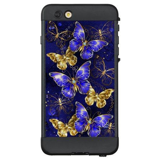 Composition with Sapphire Butterflies LifeProof NÜÜD iPhone 6 Plus Case