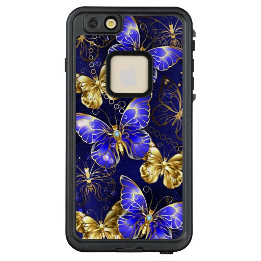 Composition with Sapphire Butterflies LifeProof FRĒ iPhone 6/6s Plus Case