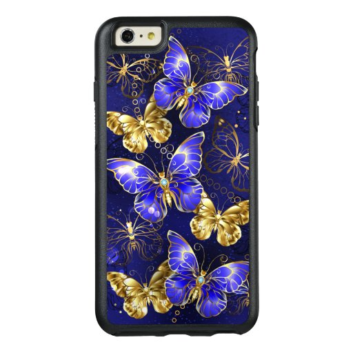 Composition with Sapphire Butterflies OtterBox iPhone 6/6s Plus Case