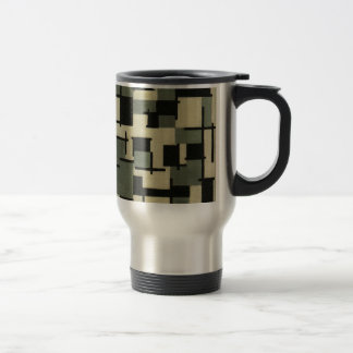 Composition XIII by Theo van Doesburg 15 Oz Stainless Steel Travel Mug