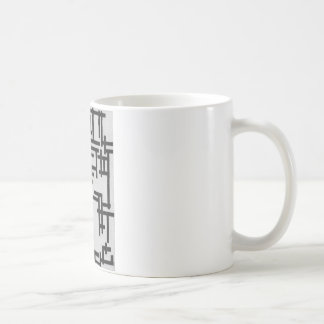 Composition XIII (Woman in studio) by Theo Classic White Coffee Mug