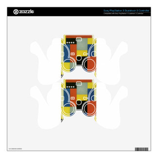Composition XX by Theo van Doesburg PS3 Controller Skins