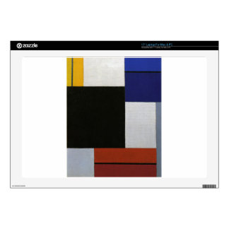 Composition XXI by Theo van Doesburg Decals For Laptops