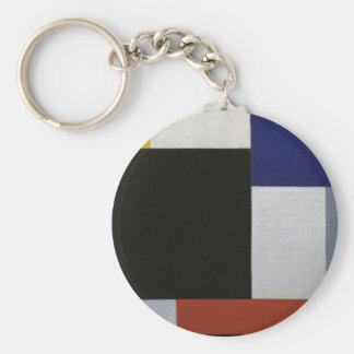 Composition XXI by Theo van Doesburg Keychain