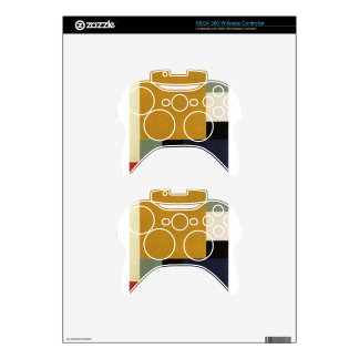 Composition XXII by Theo van Doesburg Xbox 360 Controller Skins