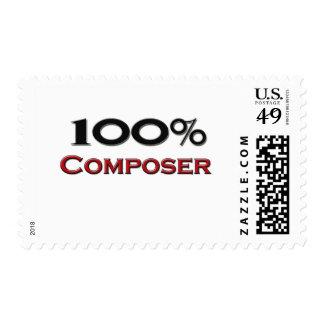 Compositor del 100 por ciento sello