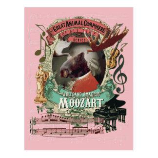 Compositor del animal de los alces de Wolfgang Postales