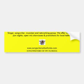 COMPOSITORES DEL INTERRUPTOR LA FLORIDA PEGATINA PARA AUTO