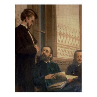 Compositores eslavos postales