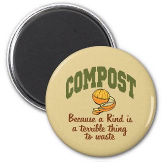 Compost 2 Inch Round Magnet