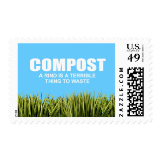 Compost A rind is a terrible thing to waste Stamps