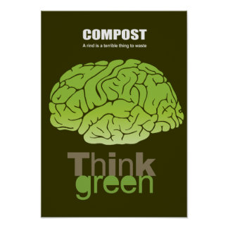 COMPOST - A rind is a terrible thing to waste Posters