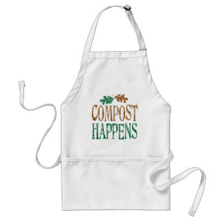 Compost Happens Adult Apron