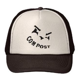 Compost Jack-o-Lantern Hat
