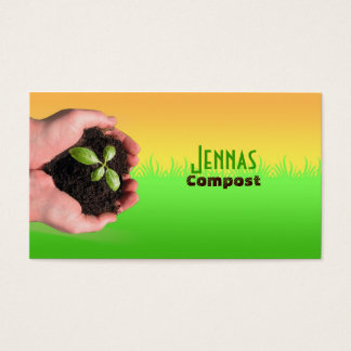 Composting Business Cards