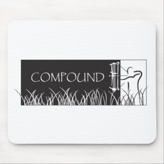 Compound Archery Banner - Male Mouse Pad