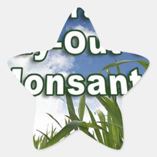 Compra-hacia fuera apalancada de Monsanto A3 Colcomanias Forma De Estrella