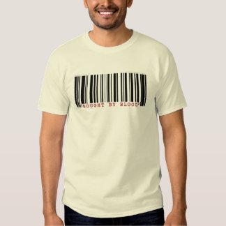 Comprado por la camiseta de la clave de barras de camisas