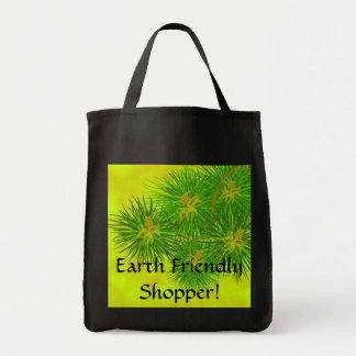 Comprador amistoso de la tierra bolsa tela para la compra