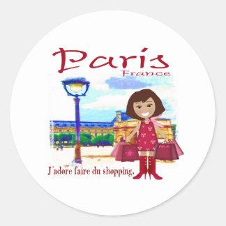 Comprador de París Etiquetas