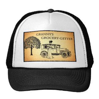 Comprador del ultramarinos de la abuelita gorras de camionero