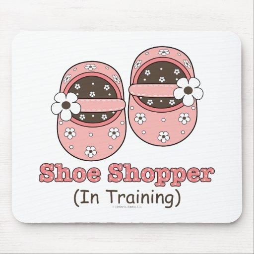 Comprador del zapato en el entrenamiento de Mousep Tapete De Raton