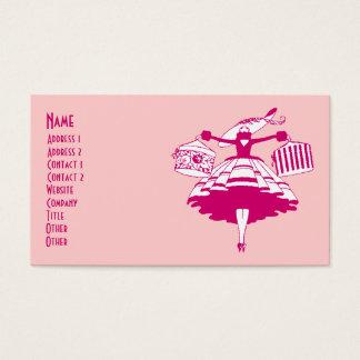 Comprador formado alto del vintage tarjeta de negocios