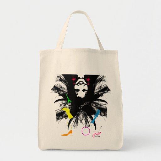 comprador loco bolsa tela para la compra