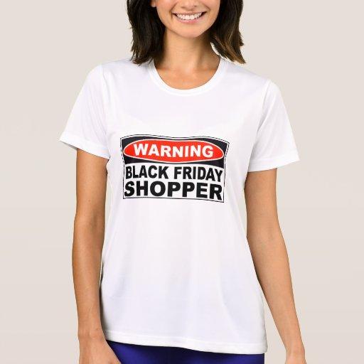 Comprador negro amonestador de viernes camiseta