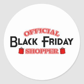 Comprador negro oficial de viernes etiqueta