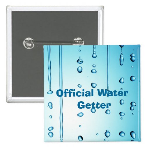 Comprador oficial del agua pins