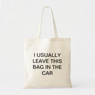 Comprador olvidadizo bolsas
