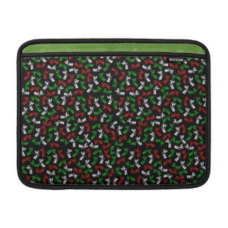 Compradores de Navidad del vintage Fundas Para Macbook Air