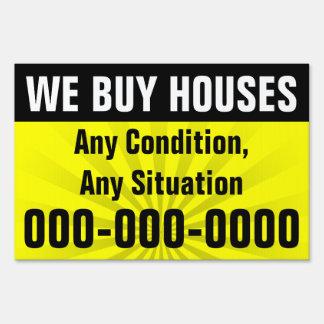 Compramos casas, propiedad de la inversión cartel
