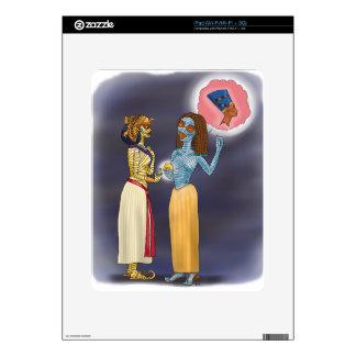 Compras de señora Mummific iPad Skins