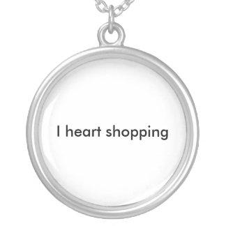 Compras del corazón I Colgante Redondo
