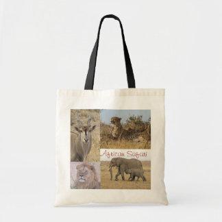 Compras del safari bolsa